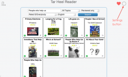 Putting Tar Heel Reader books into iBooks – with Speech!