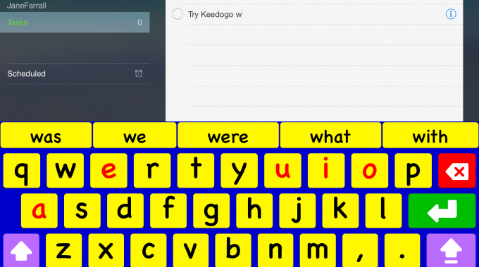 Keedogo & Keedogo Plus: Custom Keyboards for the iPad
