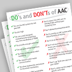 Do's and Don'ts of AAC: Pulling It All Together