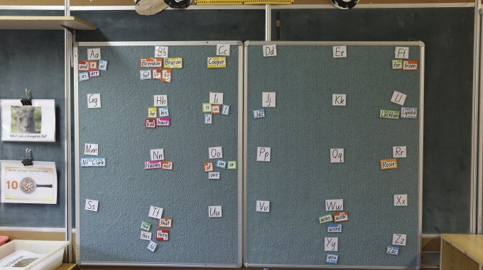Word Walls: Using the Word Wall
